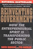 img - for Reinventing Government: How the Entrepreneurial Spirit is Transforming the Public Sector (Plume) by Osborne, David, Gaebler, Ted unknown Edition [Paperback(1993)] book / textbook / text book