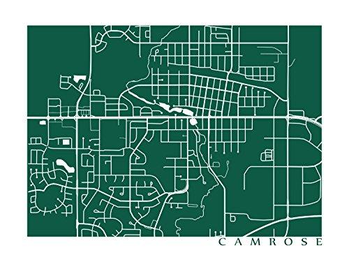 Camrose Map
