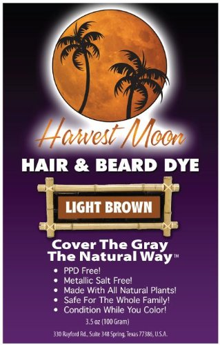 Light Brown Henna Hair Dye 100 Grams
