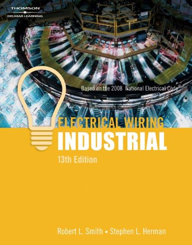 Electrical Wiring Industrial - 13th Edition - Cengage Learning - IC-5008S13 - ISBN: 1418063983 - ISBN-13: 9781418063986