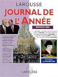 Journal de l'année 2002