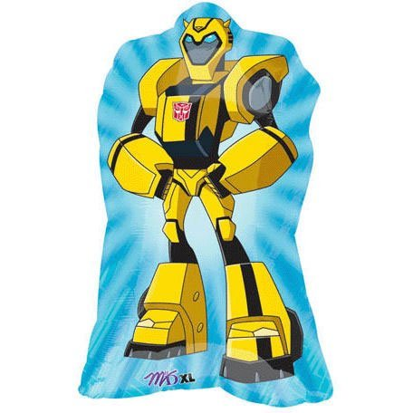 Transformers Party Supplies Bumble Bee Jumbo Mylar balloon