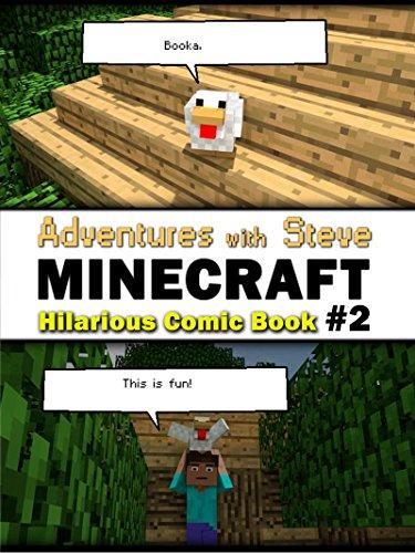 "AIG Guy - Minecraft: Minecraft Hilarious Comic Book ""2"" (Minecraft Joke, Minecraft Joke For Kid, Minecraft Comic Book, Minecraft Books, Minecraft Comics, Minecraft Novel)"