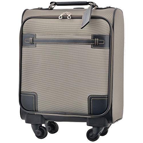 キャリーケース ピジョール サジェスTR スーツケース TSA南京錠 機内持ち込み PUJOLS ソフトタイプ 4輪 15L 日帰り 1日用 36cm SSサイズ 51276 (カーキ)