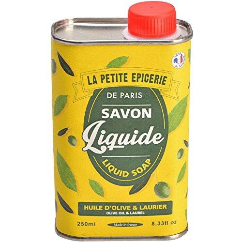 Bidon de Savon liquide Huile d'olive et laurier Jaune La petite épicerie de Paris 35-1S-813