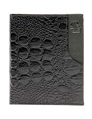 RL W 39- Gr Green Leather Miller Wallet For Men