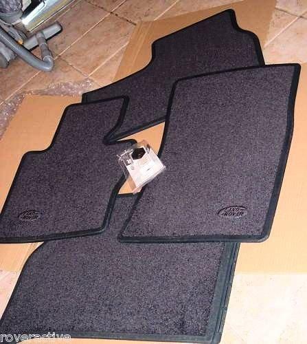 Coverking Front Custom Fit Floor Mats for Select Cadillac DeVille Models Oak 70 Oz Carpet