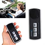 IMAGE® Car Handsfree Bluetooth Multipoint Speaker for Cell Phone iPhone 4 4S 5 5C 5S Android Cellphone Car Kit Speakerphone