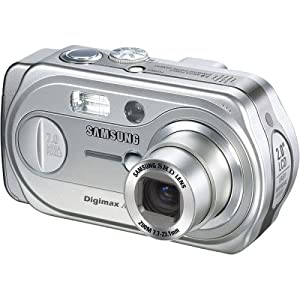 Samsung Digimax A7 7MP Digital Camera with 3x Optical Zoom