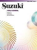 Suzuki Viola School, Volume 5: Viola Part