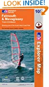 Falmouth and Mevagissey, Truro and St Mawes (OS Explorer Map)