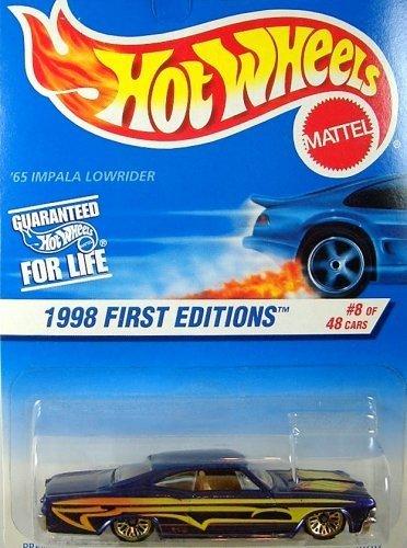 1998 Hot Wheels '65 Impala Lowrider Card Variation - 1
