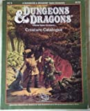 Creature Catalog (Dungeons and Dragons Accessory AC9 )