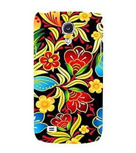 Floral Painting Art 3D Hard Polycarbonate Designer Back Case Cover for Samsung Galaxy S4 Mini i9190