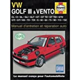 Volkswagen Golf III / Vento (French service & repair manuals) (French Edition)