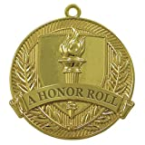 Shining Gold A HONOR ROLL Medal In Box