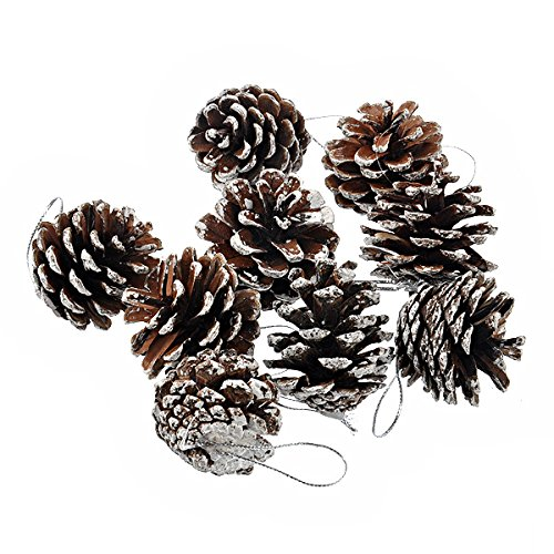 tinksky-christmas-tree-decoration-natural-pinecone-pine-nut-christmas-ornaments-9-pcsset-silversilve