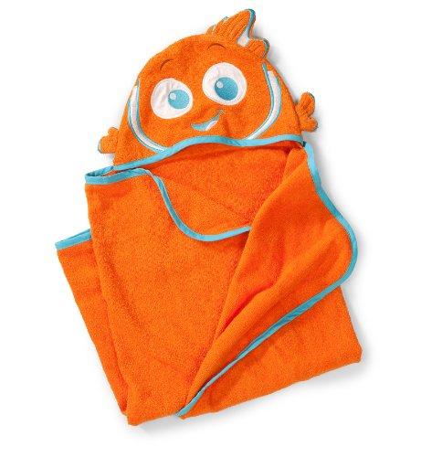 Summer Infant 100% Cotton Infant Nemo Hooded Towel