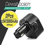 AKPower® 12V 2.0Ah Battery for Dewalt DW930 DW965 DW970 DW972 DE9074 DE9075 DE9071 DE9501