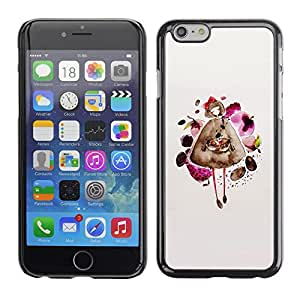Omega Covers - Snap on Hard Back Case Cover Shell FOR Apple Iphone 6 Plus / 6S Plus ( 5.5 ) - Fashion Dress Pretty Lady Girl