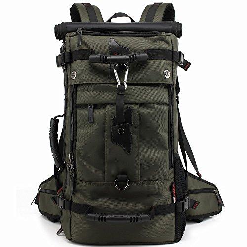 SARATIN アウトドア リュック ハイキング 旅行 バックパック バック 大容量40L 登山用 グリーン A00111