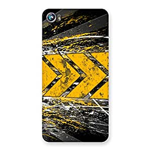 Cute Forward Abstract Back Case Cover for Micromax Canvas Fire 4 A107