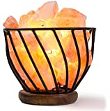 HemingWeigh® Salt Bowl on Metal Stand with Salt Chips With Electric Wire & Bulb