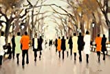 Poets Walk by Christie, Lorraine - fine Art Print on PAPER : 40 x 27 Inches