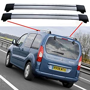 citroen berlingo multispace 5dr mpv 2008 aerobar bicke roof rack cross bars spoiler. Black Bedroom Furniture Sets. Home Design Ideas