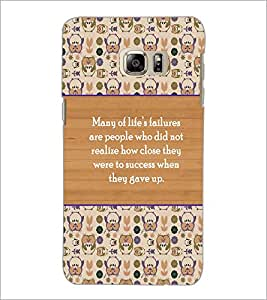 PrintDhaba Quote D-3174 Back Case Cover for SAMSUNG GALAXY NOTE 5 (Multi-Coloured)