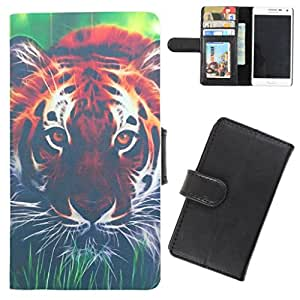 DooDa - For Samsung Galaxy Ace S5830 PU Leather Designer Fashionable Fancy Flip Case Cover Pouch With Card, ID & Cash Slots And Smooth Inner Velvet With Strong Magnetic Lock