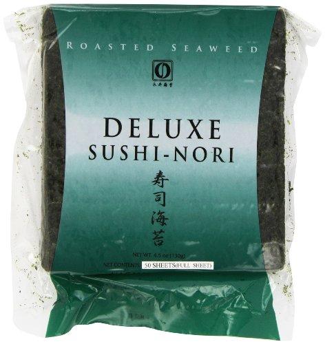Nagai Deluxe Sushi Nori, 50 Count (Sushi Grade Fish compare prices)