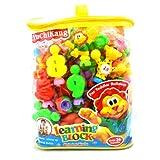 Multicoloured Multidesign Fun Learning Blocks - B00JMYWTEK