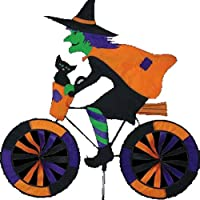 Witch on Bicycle Garden Spinner from Premier Kites