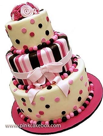 Pink Cake Box Cakes