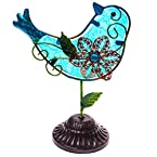 Stained Glass Bird Decor