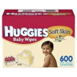 Huggies Soft Skin Shea Butter Wipes - 600 ct. ~ Huggies