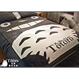 CosyDeal Anime My Neighbor Totoro Woolen Blanket CORAL FLEECE Quilt New Bigger Cos Gift 59 X 78.7 Inches