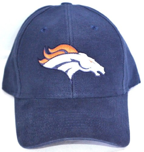 NFL Denver Broncos Adjustable Cap Hat-navy blue by nfl