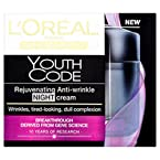 L'Oreal Paris Youth Code Rejuvenating Anti-Wrinkle Night Cream (50 ml)