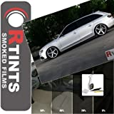 Deluxe Side Window Tint Kit with Application Tools - Chevrolet / Chevy Optra Sedan 2004 2005 2006 2007 - 5% All Side Windows