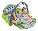 Fisher-Price Kick and Play Piano Gym CustomerPackageType: Frustration-Free Packaging Infant, Baby, Child