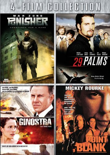 Four-Film Collection (Punisher: War Zone / 29 Palms / Ginostra / Point Blank)