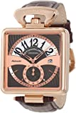 Stuhrling Original Men's Octane Castello Automatic Mechanical Date Brown Watch 146A.334K54