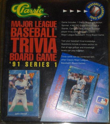 Major League Baseball Trivia Board Game 1991 Series 1 - 1