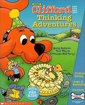 Scholastic Clifford Thinking (Jewel Case)