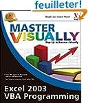 Master VISUALLY Excel 2003 VBA Prgrmng