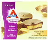 Atkins Endulge Peanut Butter Cups – 5 Pack, 6 oz. Boxes (Pack of 6)