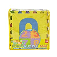 Kennedy Home Collections Puzzle Mat in Numbers from Kennedy International, Inc.