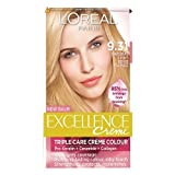 L'Oreal Paris Excellence Hair Colour Kit, Natural Light Beige Blonde Number 9.31 - Pack of 3